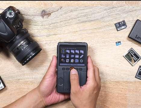 Photo Organization Backup Devices