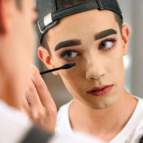 Male Makeup Brand Ambassadors - Influencer James Charles Will Be Covergirl's Newest Ambassador