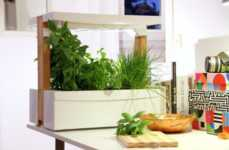 Stackable Garden Boxes - These Indoor Garden Squares Allow Users to Grow Food at Home