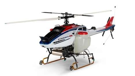 Autonomous Agricultural Helicopters