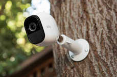 Weatherproof Security Cameras - The Arlo Pro Camera Works Perfectly Well In Rain and Snow