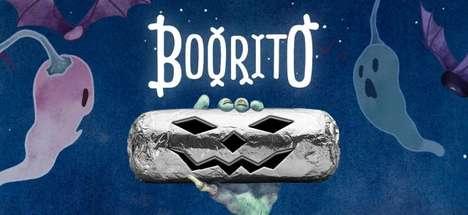 Spooky Burrito Promotions