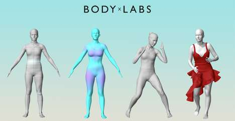 AI Fashion-Fitting Systems - Body Labs Blue Uses AI and Machine Learning to Fit Garments