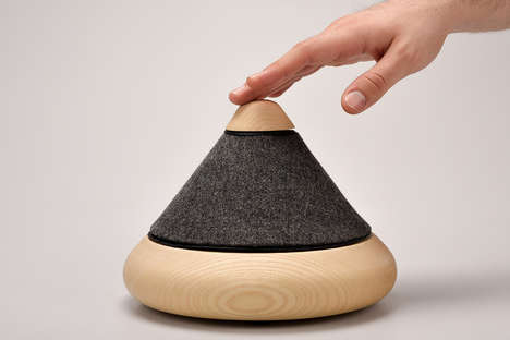 Wooden Omnidirectional Speakers