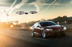 Electric Car Brand Drones