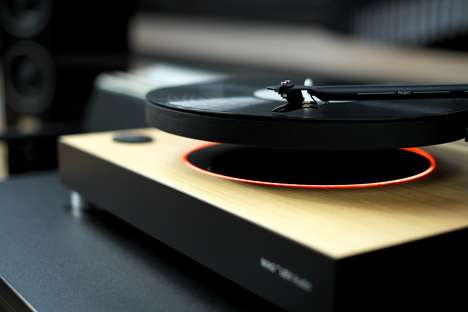 Levitating Record Players