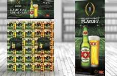 Beer-Themed Football Sweepstakes