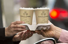 Plant-Based Coffee Cups - The 'Future Smart' Paper Cup from Huhtamaki is Full Renewable