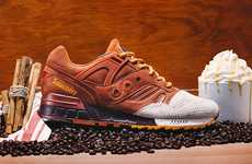 Pumpkin Spice-Inspired Sneakers - Saucony Originals Released a New Design Intended for Latte-Lovers