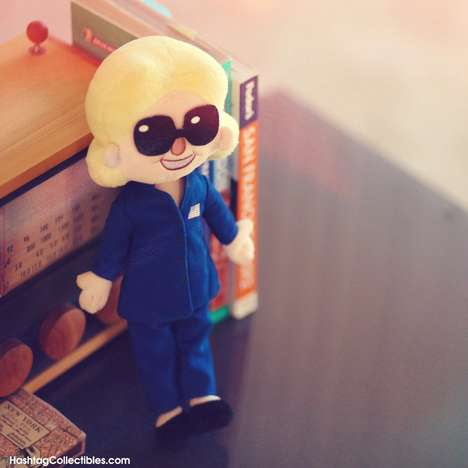 Presidential Candidate Dolls - Hashtag Collectibles' Doll is Based on the Texts from Hillary Meme