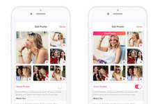 Photo-Optimizing Dating Apps - Tinder's 'Smart Photos' Feature Automatically Reorders Users' Pics
