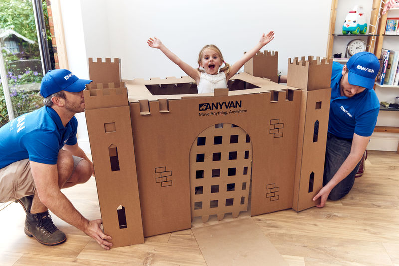 Play-Inspiring Moving Boxes