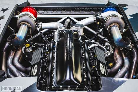 Methanol-Powered Novelty Cars
