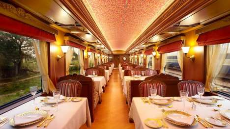 Mobile Train Wedding Celebrations - This Event Allows People to Celebrate Their Weddings on a Train