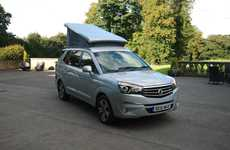 Affordable Camper Vans - The SsangYong Tourist Offers Accessible Adventure Travel Support