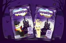 Halloween-Themed Cheese Snacks - These String Cheese Snacks are Offered in Spooky Packaging