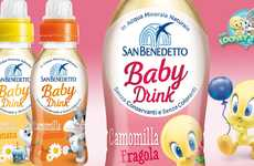 Mineral-Enriched Baby Waters - The San Benedetto Bio Baby Bottled Mineral Water is Nutritious