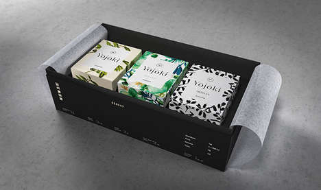 Honorary Japanese Tea Branding - Yojoki Tea Packaging Pays Homage to the Tradition of Tea Drinking