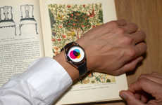 Colorful Hand-Free Watches - Mr Jones' 'Colour Venn' Watch Tells Time By Blending Colors