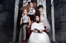 Upscale Halloween Childrenswear - Tutu Du Monde's 'Under A Spell' Offers Innovative Seasonal Clothes