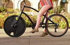Electric Bike Conversion Wheels - The Electron Wheel Turns Any Bike into an Electric Bike