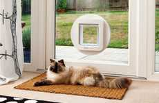 Microchip-Scanning Pet Doors - The 'SureFlap' Pet Door Will Only Unlock for Authorized Animals