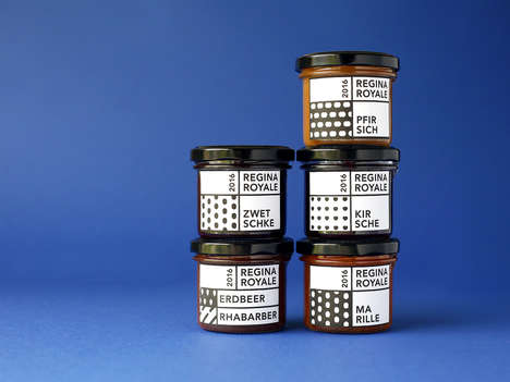 Texture-Focused Jam Branding