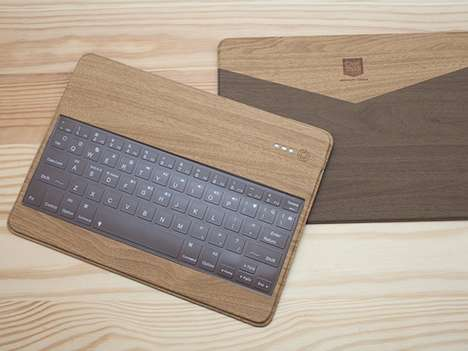 Spill-Proof Wooden Peripherals