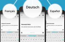 Multilingual Smart Keyboards - Microsoft SwiftKey Uses Neural Networks to Function in Many Languages