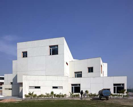 Space-Efficient Schools - Delhi Public School's Design Maximizes Available Space