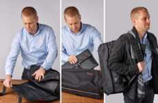 Dual-Space Travel Bags - The 'Henty CoPilot' Has a Variety of Features Ideal for Traveling