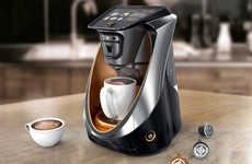 Customization-Focused Coffee Machines - The 'Kallpa' Capsule Coffee Maker Allows for Personalization