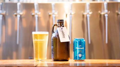 Beer-Kombucha Hybrids - Postmark Brewing is Now Making a Beer Beverage Called 'Blondebucha'