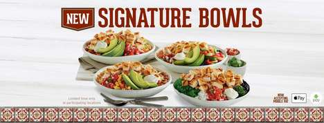 Protein-Rich Burrito Bowls - El Pollo Loco's New Signature Bowls Offer Tasty Ways to Enjoy Chicken