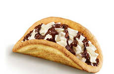 Handheld Dessert Tacos - McDonald's Italy's New Pocket Sundae Puts a Clever Twist on Ice Cream