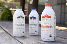 Simplified Nut Milks - New Barn 'Almondmilk' is Made with Just a Handful of Natural Ingredients
