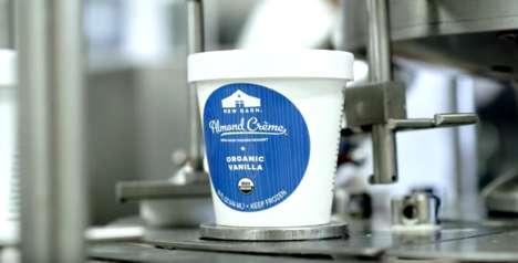 Frozen Almond Milk Desserts