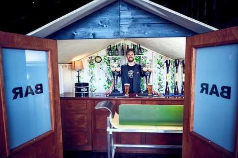 Tiny Tech-Free Pubs - Meantime Brewing's 'Make Time For It' is a Miniature Bar That Bans Technology