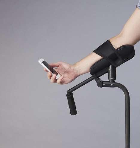 Pain-Free Crutches