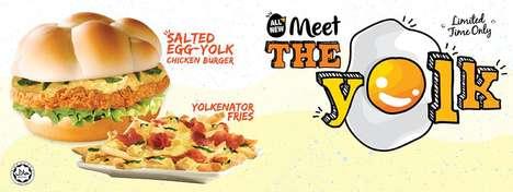 Salty Egg-Based Burgers