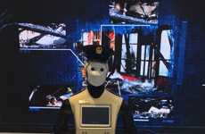 Dubaian Police Robots - The Dubai Police will Introduce a Robot Cop onto the Force by 2017