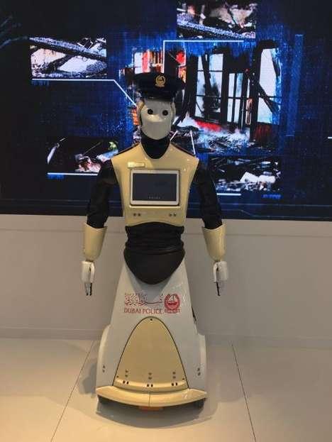 Dubaian Police Robots