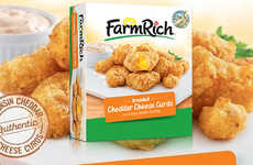 Freezer-Friendly Cheese Cruds - Farm Rich is Making It Easy to Enjoy Cheddar Cheese Curds Anytime