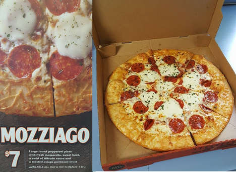 Hybrid Cheese Pizzas