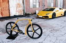 Supercar-Inspired Bikes