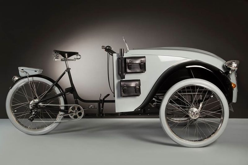 Classically Designed Trikes