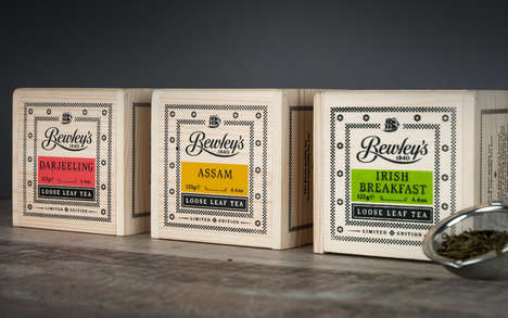 Wooden Tea Chests - 'Bewley's' is Offering Limited Edition Packaging for Its Teas