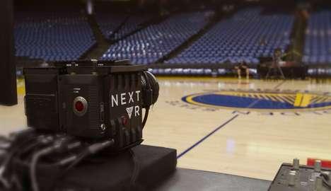 VR Basketball Game Streams