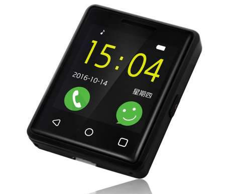 Smartwatch-Sized Smartphones