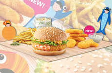 Fishy Fast Food Menus